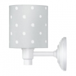 Kinkiet Lovely Dots Grey Lamps&Co