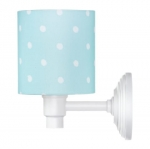 Kinkiet Lovely Dots Mint Lamps&Co