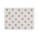 Dywan Stars Natural - Vintage Blue Lorena Canals