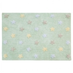 Dywan Tricolor Star Soft/Mint Lorena Canals