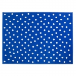 Dywan Dots Deep Blue Lorena Canals