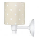 Kinkiet Lovely Dots Beige Lamps&Co