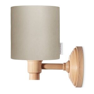 Kinkiet Velvet brown Lamps&Co