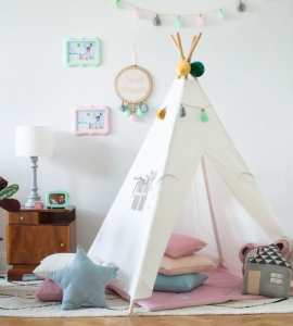 Namiot TIPI Classic white Lamps&Co