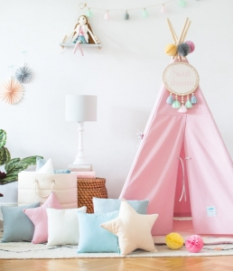 Namiot TIPI Classic pink Lamps&Co