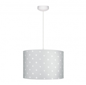 Lampa wisząca Lovely Dots Grey Lamps&Co