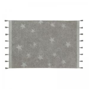 Dywan Hippy Stars Grey Lorena Canals