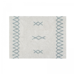 Dywan Atlas Natural - Vintage Blue Lorena Canals